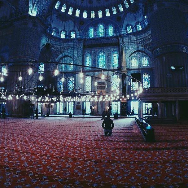 Sultan Ahmet camii (Blue Mosque) Istanbul.