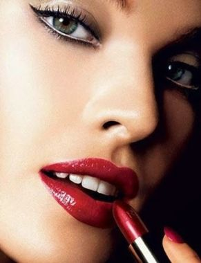 Tendencia De Maquillaje 2014 pinta labios tendencia Rojo maquillaje Lápiz Labial CentralModa.eu
