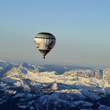 Vol en Montgolfière Grenoble Mont-Blanc Isère 38 - http://www.sport-decouverte.com/