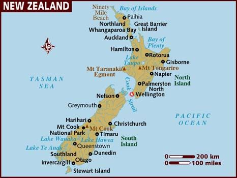 New Zealand - Not been yet but I want to visit here most of all