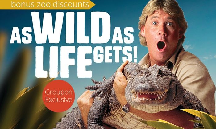 Steve Irwin's Australia Zoo: Tickets with Discounts (Up to $51 Value)