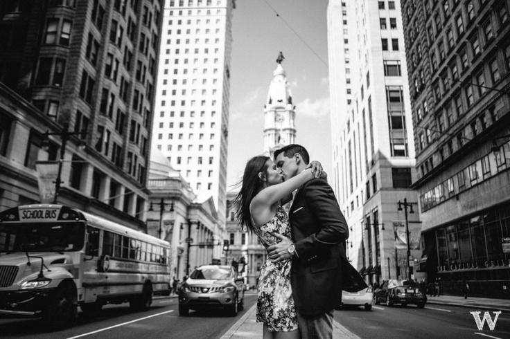 Rittenhouse Park Engagement Photos With Danielle & Gerry - Philadelphia Wedding Photographers