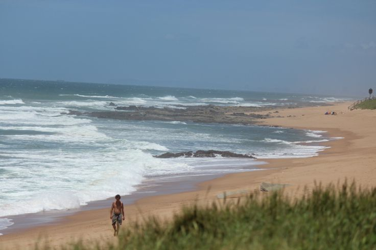 Umdloti Beach - great for long walks, fascinating discoveries in rock pools, fun in the ocean and general all round well being. There's nothing like the ocean to wash in a good vibe. Umdloti is north of Ballito - two small lively beachside towns north of the city of Durban - close enough as a day trip and closer still to Durban's King Shaka International Airport.