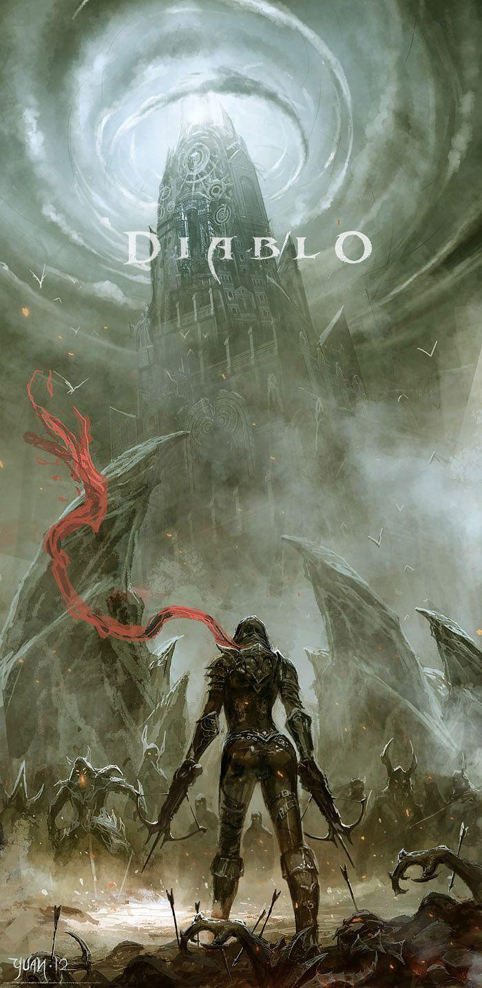Enter Demon Hunter  by ~ChaoyuanXu