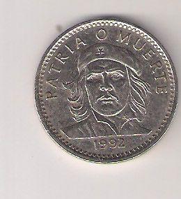 Front: Moeda cubana de 3 pesos