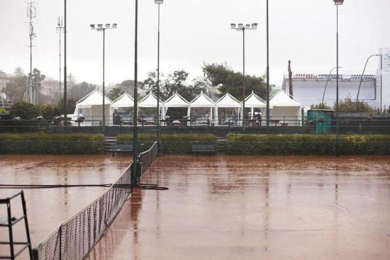 Piove sulla Coppa Davis: salta l'inaugurazione | © Machi di Pace - Campania su Web