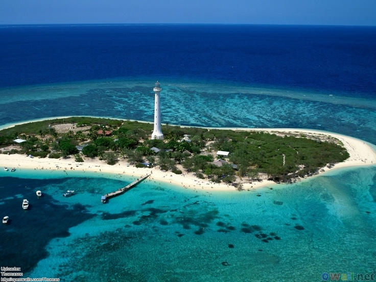 Amedee Lighthouse, New Caledonia - a day trip from Noumea