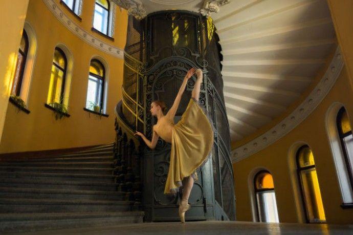 «Балетные сказки»: потрясающая серия фотографий от российской балерины Дарьян Волковой