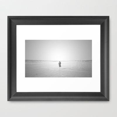 GIRL Framed Art Print by lilla värsting - $31.00