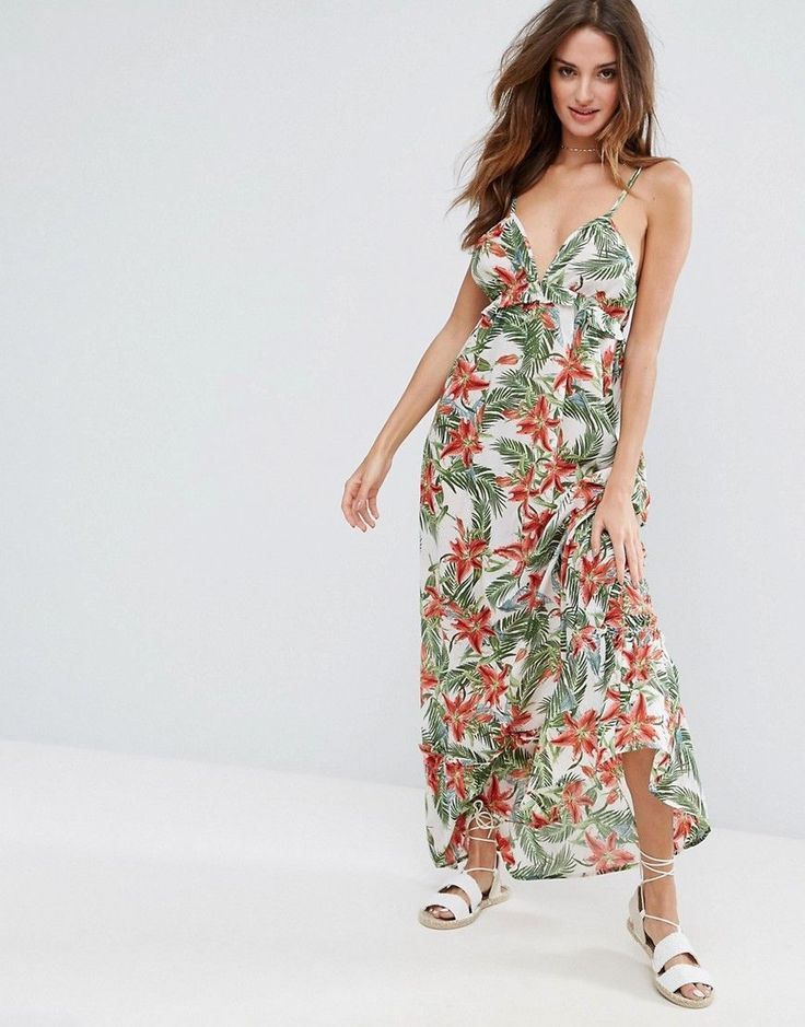 Best 25 beach maxi dresses ideas on pinterest tie up for Robe fleurie asos