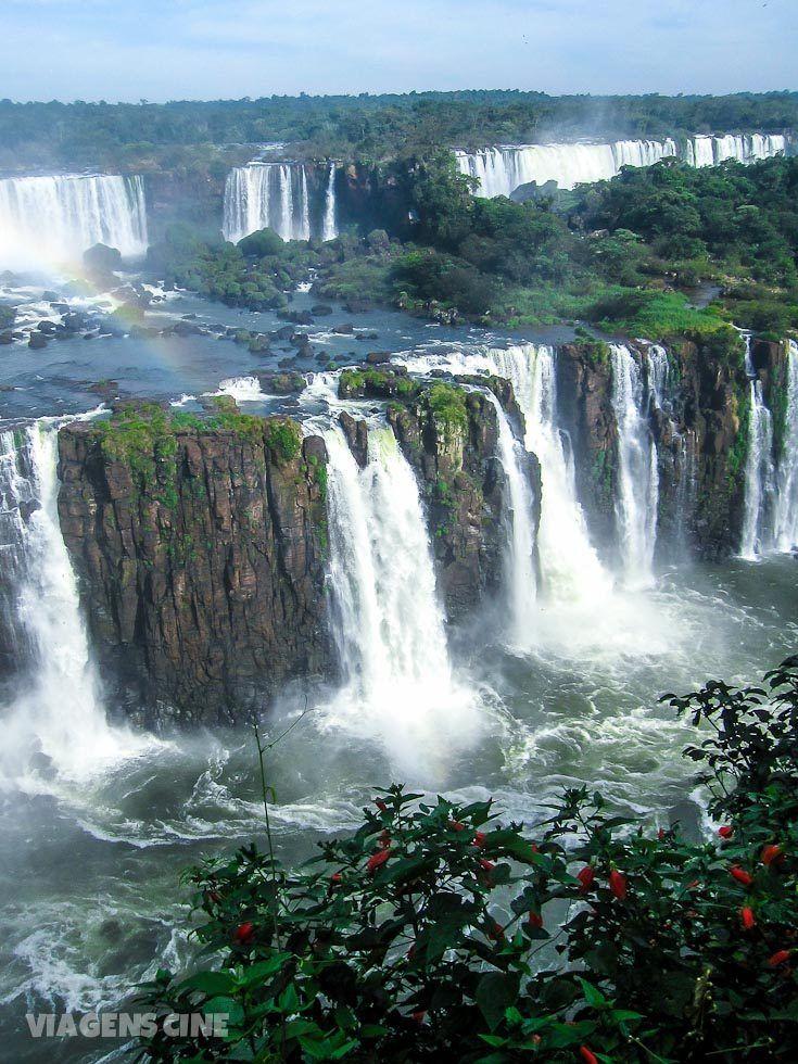 Parque Nacional do Iguaçu: Algumas das 275 quedas de água encontradas nas Cataratas do Iguaçu