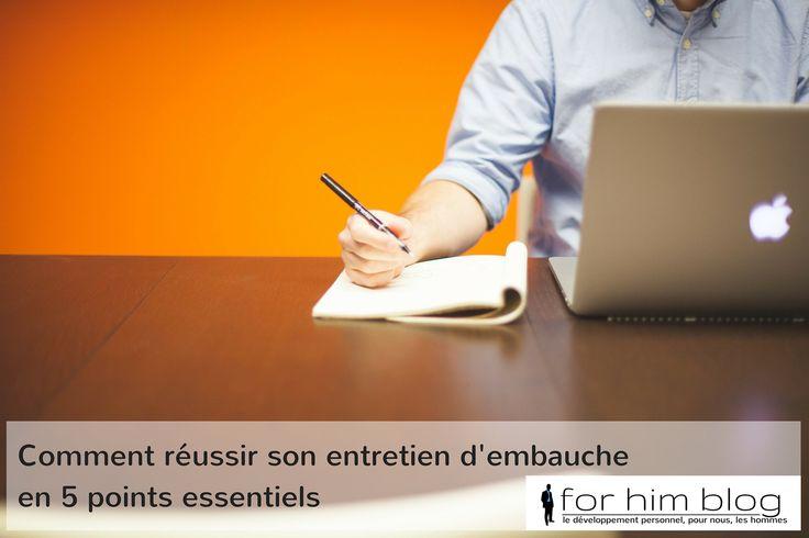 5 conseils pour réussir son entretien dembauche