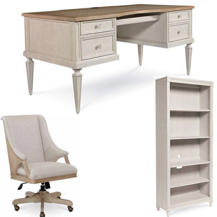 ART Furniture - Roseline 3 Piece Brown Nora Executive Desk Set - 248821-2340-3SET