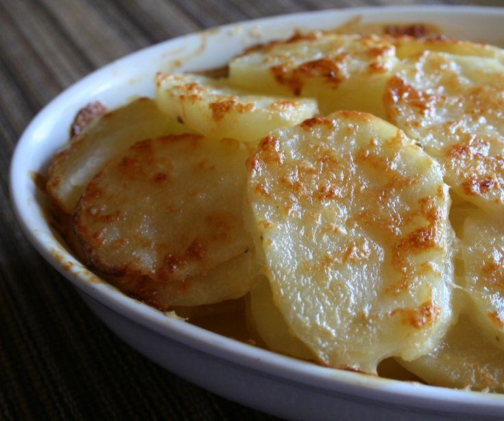 Πατάτες au gratin