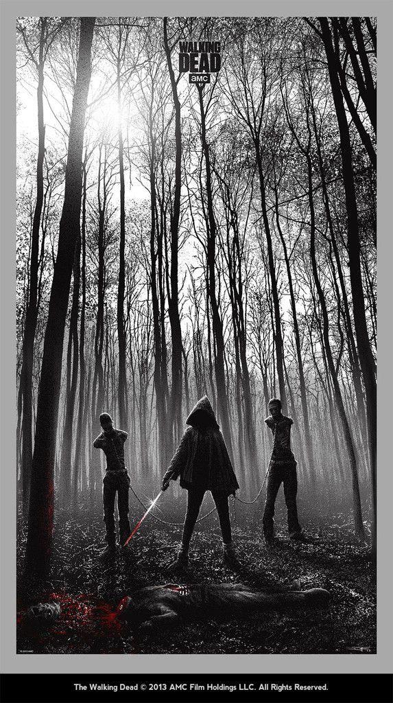 The Walking Dead Art Show : michonne