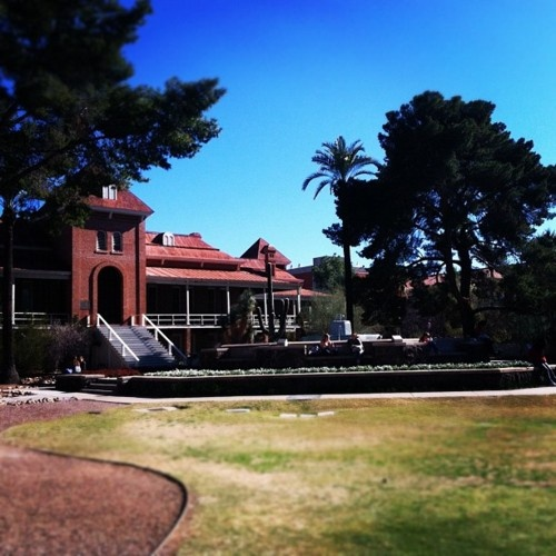 Old Main, University of Arizona, Tucson - where I wanted to go to college - youngest son went instead!.