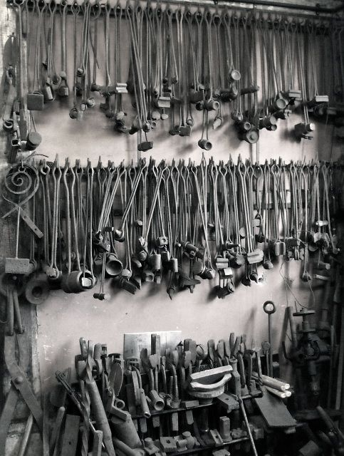 "Blacksmith tools.  ""Hoarder?""  No way!!!!"