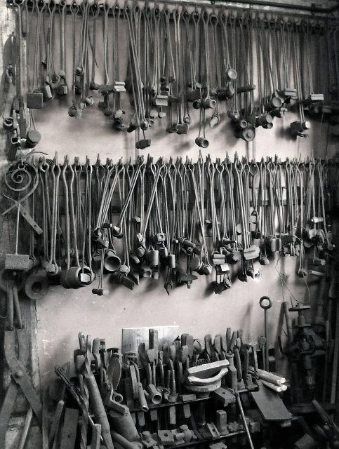 """Blacksmith tools.  """"Hoarder?""""  No way!!!!"""