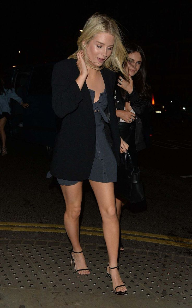 Lottie Moss At Bodo's Restaurant In London