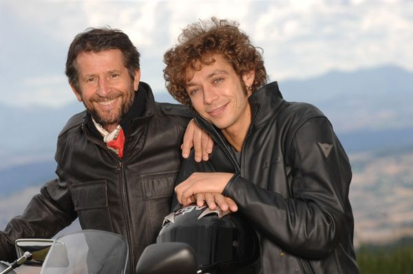 Valentino Rossi like you've never seen him before! picture - doc324507. From Top Speed Vale with his father.