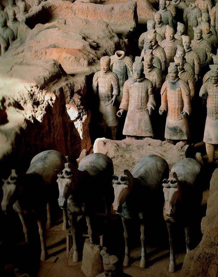 Терракотовая армия императора Цинь Шихуана, Китай