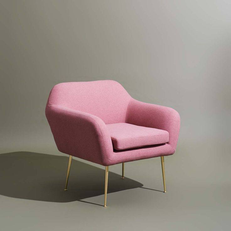 Our woman crush this week is the all new Wingman Armchair in dusty rose  She is the perfect combination of sexy and cute, and very well put together. Style with anything you fancy, find her online and in-store... #brass #armchair #green #shadow #furniturephotography #minimalist #housegoals