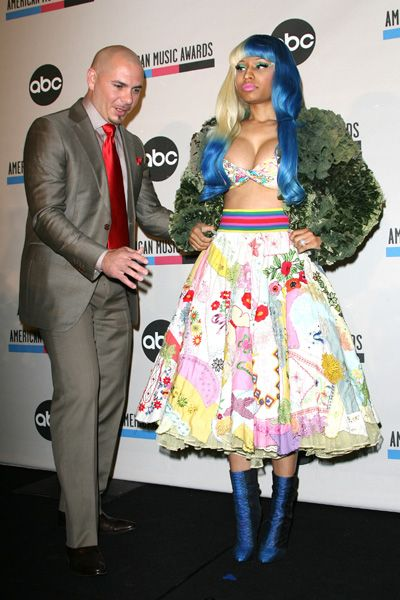 Nicki Minaj and Pitbull announce AMA Nominations