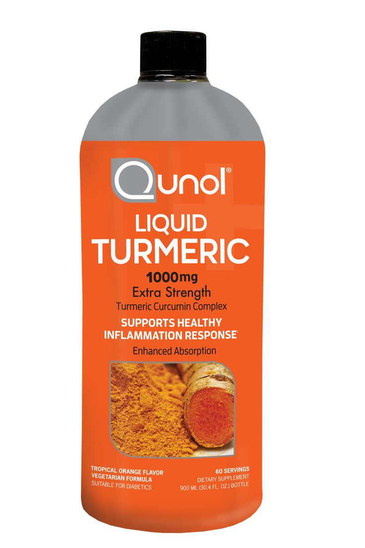 Qunol Liquid Turmeric, 1000mg, 60 Servings, 30.4 Ounces