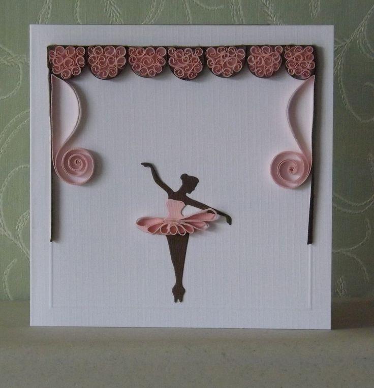 спутать квиллинг открытки гимнастика балерины того, что