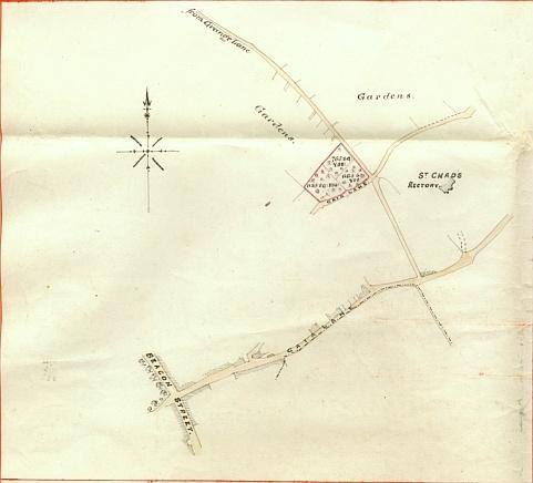 St Chads - Opposite - Gaia Fields - Lichfield City