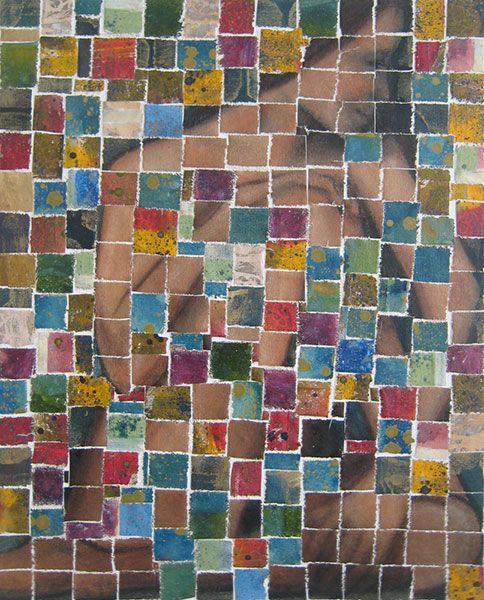 The little GALLERY of fine ARTS - Amelia by Dale Tutill  #painting #portrait #figurative #modern #nzartist