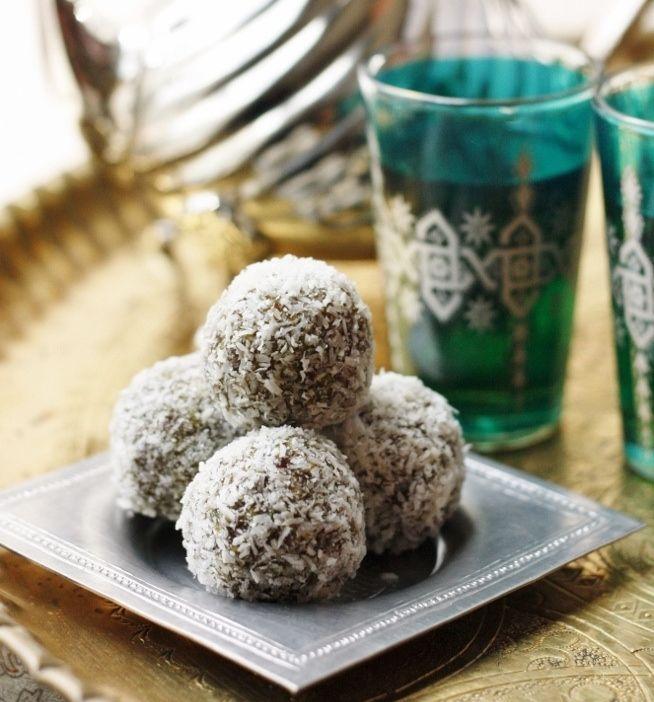 Ramadan dates Truffles yum yum