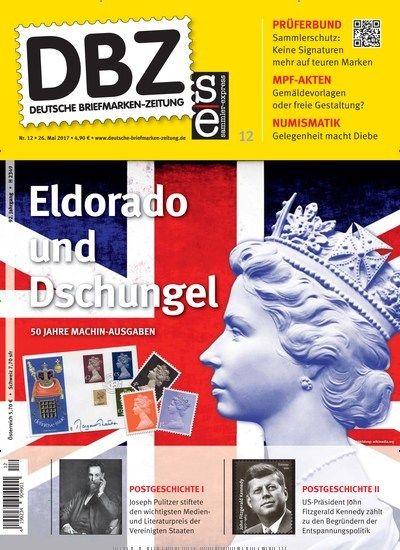 Eldorado und Dschungel 50 Jahre Machin-Ausgaben  Jetzt in DBZ Deutsche Briefmarken-Zeitung.