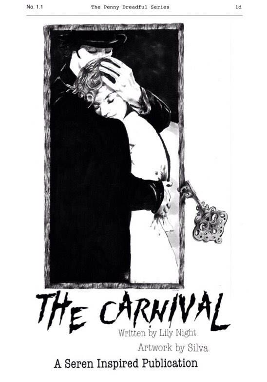 Penny Dreadful Series Volume 1 - The Carnival by SerenInspired on Etsy https://www.etsy.com/au/listing/532731051/penny-dreadful-series-volume-1-the