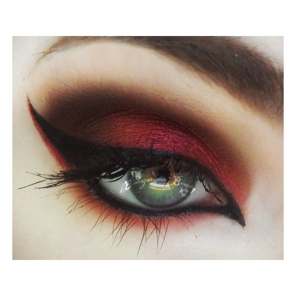 The Mad Hatter's Asylum Makeup Tutorial - Makeup Geek ❤ liked on Polyvore featuring beauty products, makeup, eye makeup, eyes, beauty, paraben free cosmetics and paraben free makeup