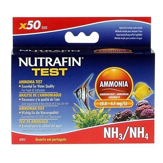 NUTRAFINTest KitAmonio - #FaunAnimal mide el amoníaco en acuarios de agua dulce y salada. El amoníaco debe ser probado semanalmente, ya que es el compuesto de nitrógeno más tóxicos y potencialmente letal para los peces.