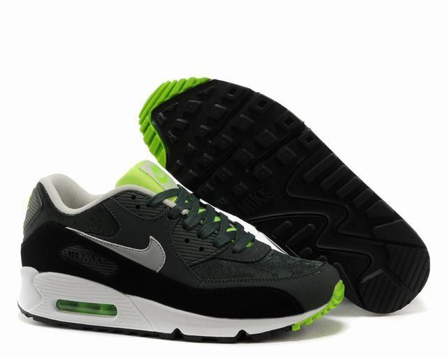 huge discount 72f0a ded47 nike air max 90 essential homme,homme air max 90 noir et verte