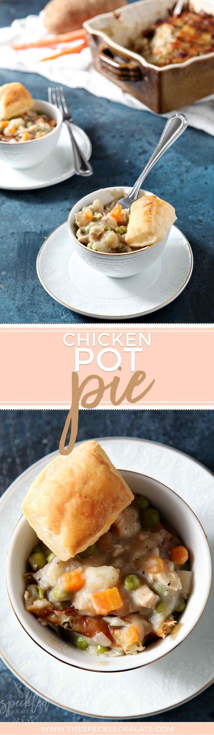 Chicken Pot Pie #easyrecipe #dinnerrecipe #chickenpotpie