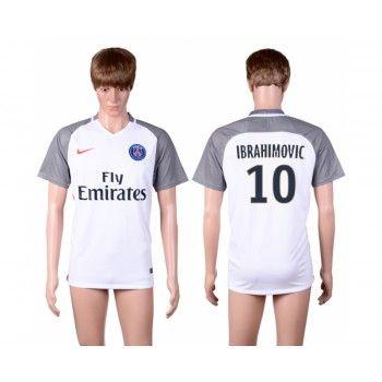 Paris Saint Germain PSG 16-17 Zlatan Ibrahimovic 10 Tredje Tröja Kortärmad   #Billiga  #fotbollströjor