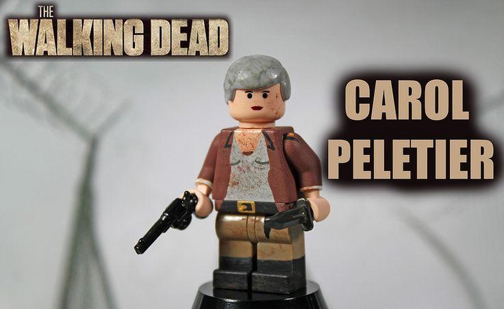 Custom LEGO The Walking Dead: Season 4 | Carol Peletier | #TheWalkingDead