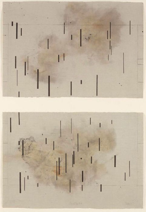 John Cage - this is a great inspiration for a littles rainy day painting