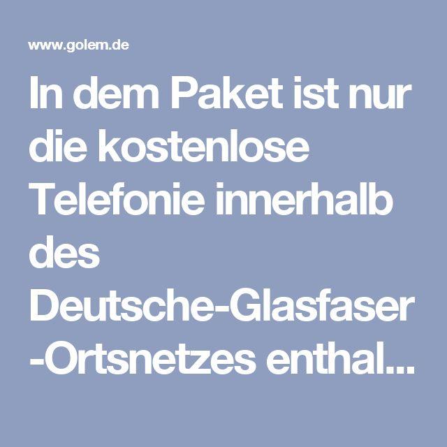 In dem Paket ist nur die kostenlose Telefonie innerhalb des Deutsche-Glasfaser-Ortsnetzes enthalten. Eine echte Festnetz-Telefonie-Flatrate kostet 5 Euro zusätzlich pro Monat.  Die Option Bandbreiten-Upgrade 200 für eine Datenübertragungsrate von bis zu 200 MBit/s im Up- und Downstream kostet im Monat 10 Euro zusätzlich.  Wenn die 40-prozentige Quote für die Anschlüsse nicht erreicht wird, werde das Verfahren für das staatliche Förderprogramm für den Breitbandausbau wieder aufgenommen. Das…
