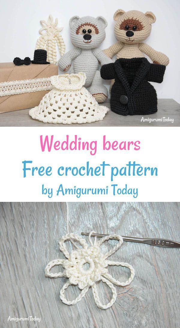Amigurumi Wedding Bears Crochet Pattern Crochet Patterns