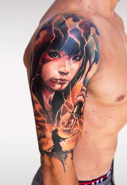 12 best tattoo artist antonio proietti images on for Italian warrior tattoos