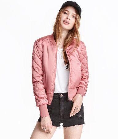Bomberjakke | Rosa | Ladies | H&M NO