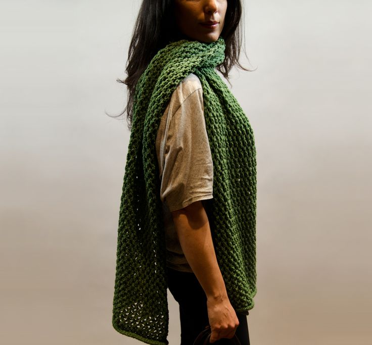 Americo Original / Perseus Wrap - a beautiful introduction to lace knitting!