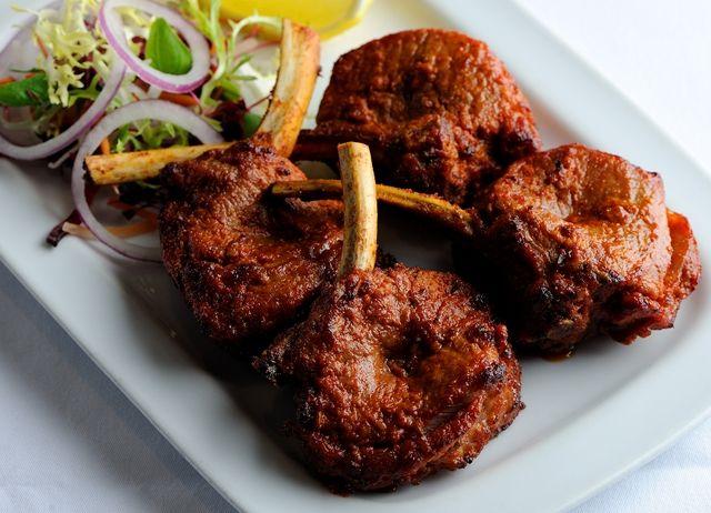 Peshwari lamb kebab
