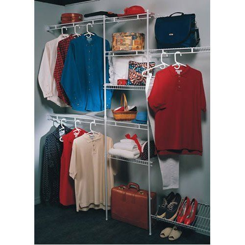 17 best images about clothes organization on pinterest for Best closet organization systems