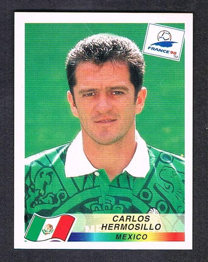 Image result for france 98 panini mexico hermosillo