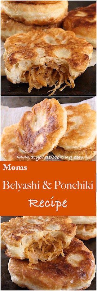 Moms Belyashi (Ponchiki)-Dough Recipe